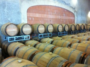 Barrel Room at Marguet