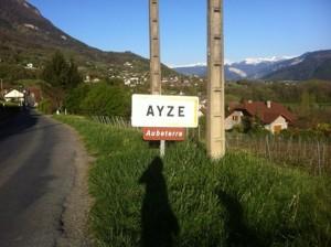 Ayze signpost