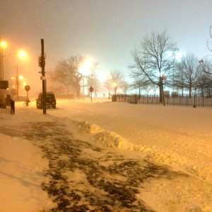 McCarren Park during our 3 feet of snow a few weeks ago.