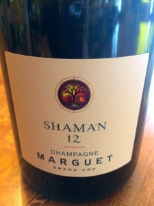 "Benoït used to call his brut non-vintage bottlings ""Elements"", but has recently changed the name to ""Shaman""."