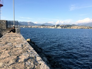 View from the bay of Ajaccio.