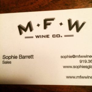 My business card. Feel free to get in touch ...